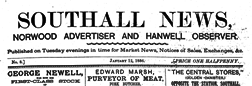 London Southall News Norwood Advertiser And Hanwell Observer newspaper archives