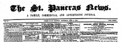 London St Pancras News Family Commercial And Advertising Journal newspaper archives