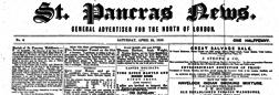 London St Pancras News newspaper archives