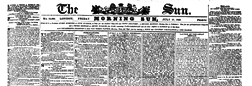 London Sun newspaper archives
