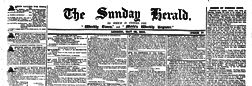 London Sunday Herald Wich Is United Weekly Times And Merles Weekly Register newspaper archives