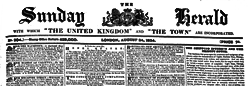 London Sunday United Kingdom And Town newspaper archives