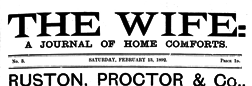 London Wife A Journal Of Home Comforts newspaper archives
