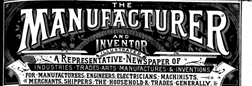 Manufacturer And Inventor newspaper archives