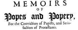 Memoirs Of Popes newspaper archives