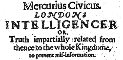 Mercuius Civicus newspaper archives
