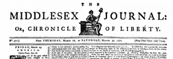 Middlesex Journal newspaper archives