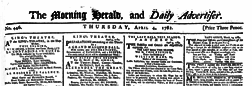 Morning Herald And Daily Advertiser newspaper archives