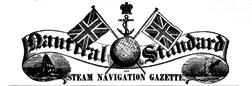 Nautical Standard And Steam Navigation Gazette newspaper archives