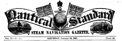 Nautical Standard newspaper archives