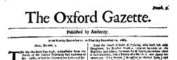 Oxford Gazette newspaper archives