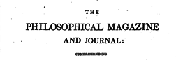 Philosophical Magazine And Journal newspaper archives