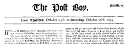 Post Boy London Middlesex newspaper archives