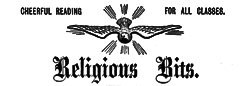Religious Bits newspaper archives