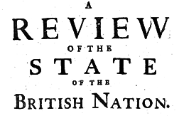 Review Of The State Of The British Nation newspaper archives