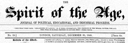 Spirit Of The Age newspaper archives
