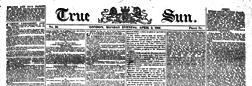 True Sun newspaper archives