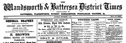 Wandsworth And Battersea District Times newspaper archives