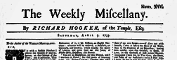 Weekly Miscellany newspaper archives
