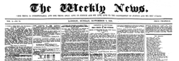 Weekly News London Middlesex newspaper archives