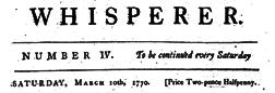 Whisperer newspaper archives