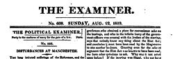 Edinburgh Examiner newspaper archives