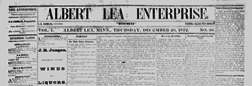 Albert Lea Enterprise newspaper archives