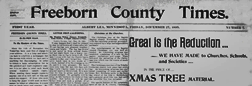 Albert Lea Freeborn County Times newspaper archives