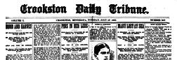 Crookston Daily Tribune newspaper archives