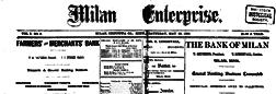 Milan Enterprise newspaper archives