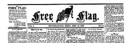 Minneapolis Free Flag newspaper archives