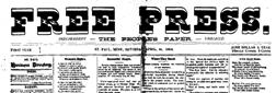 Saint Paul Free Press newspaper archives