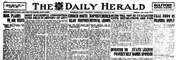 Biloxi Herald newspaper archives