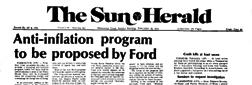 Biloxi Sun Herald newspaper archives