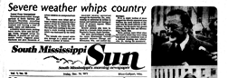 South Mississippi Sun newspaper archives