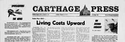 Carthage Press newspaper archives