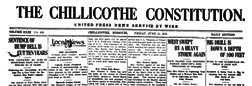 Chillicothe Constitution newspaper archives