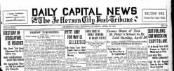 Daily Capital News And Jefferson City Post Tribune newspaper archives