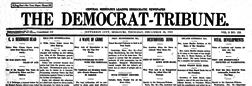 Jefferson City Democrat Tribune newspaper archives