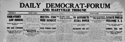 Maryville Weekly Democrat Forum And Tribune newspaper archives