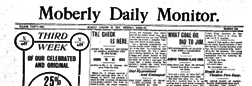 Moberly Daily Monitor newspaper archives