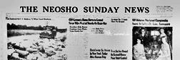 Neosho Sunday News newspaper archives