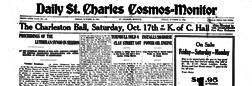 Daily Saint Charles Cosmos Monitor newspaper archives