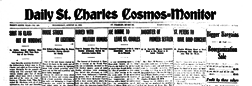 Saint Charles Cosmos Monitor newspaper archives