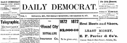 Daily Democrat newspaper archives