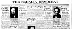 Sedalia Democrat newspaper archives