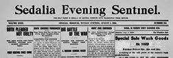 Sedalia Evening Democrat newspaper archives