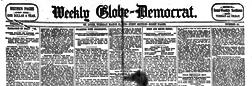 St Louis Weekly Globe Democrat newspaper archives
