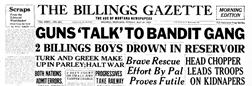 Billings Gazette newspaper archives