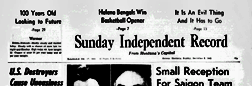 Helena Sunday Independent Record newspaper archives